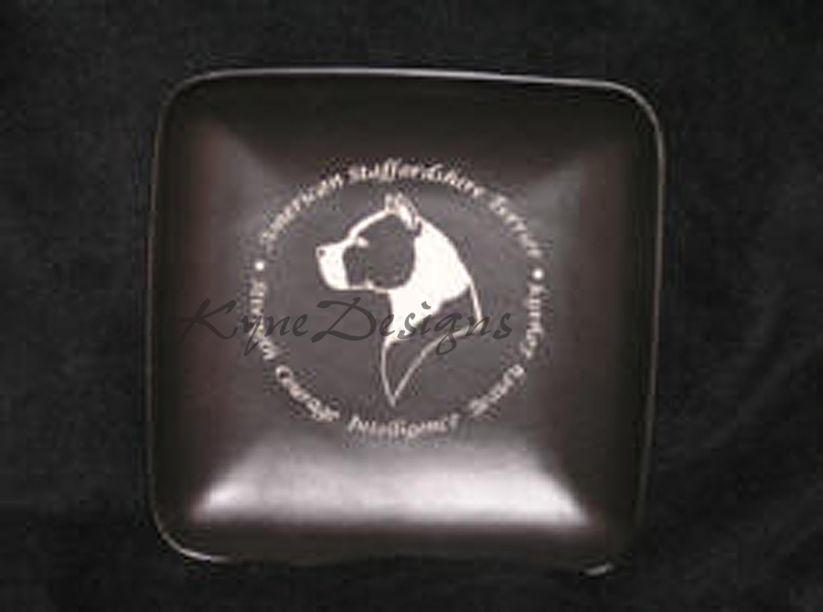 Etched plate - Amstaff Tribute