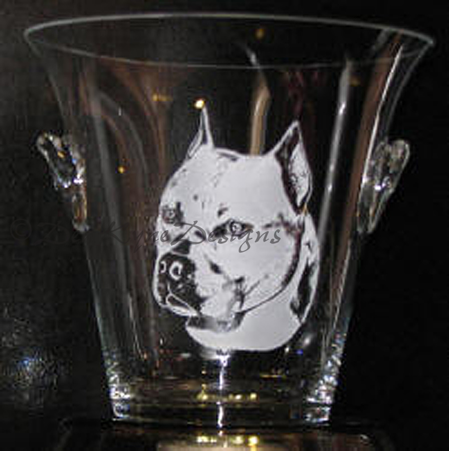 Photoresist Etched Ice Bucket - Bounty Amstaff